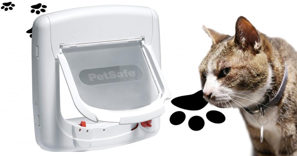chatière magnétique sans pile